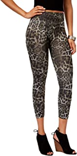 First Looks Women's Ikat Cheetah Seamless Skimmer Leggings S/M