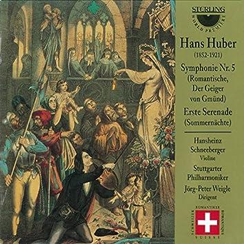 "Huber: Symphony No. 5 ""Erste Serenade"""