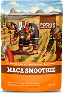 Power Superfoods Organic Maca Smoothie Blend (with Cacao Powder), 250g