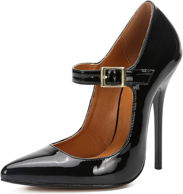 Overseas parallel import regular item MAIERNISI JESSI Unisex Men's Women's 5 ☆ very popular Stiletto High H Pointed Toe