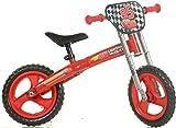 Dino Bikes Jungen Kinderfahrrad Fahrrad, Rot, 12 Zoll