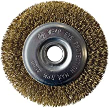 GLORIA Staaldraad-voegenborstel, accessoires voor multibrush- en WeedBrush-apparaten, draadborstel, messingborstel voor vo...