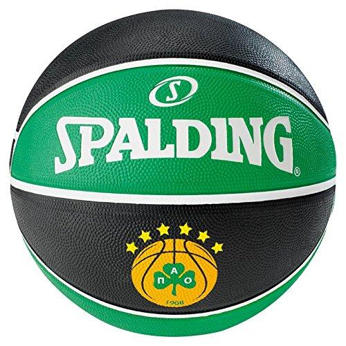 Spalding Basketball Elteam Panathinaikos Sz.7, 83-079Z Ball, Mehrfarbig, 7