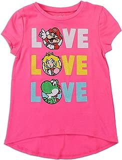Nintendo Girls' Mario, Yoshi, and Princess Peach Tee