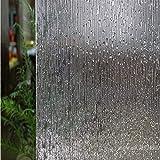 LMKJ Kiss Rain Autoadhesivo Opaco privacidad Vidrio Decorativo película para Ventanas Pegatinas electrostáticas Pegatinas Autoadhesivas para Ventanas A51 40x100cm