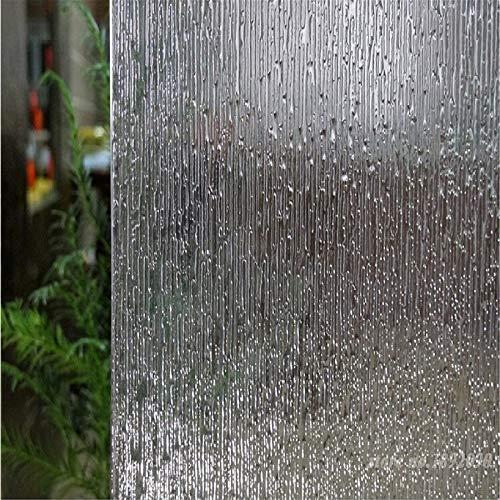 LMKJ Kiss Rain Autoadhesivo Opaco privacidad Vidrio Decorativo película para Ventanas Pegatinas electrostáticas Pegatinas Autoadhesivas para Ventanas A51 30x200cm