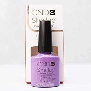 Generic CND Shellac UV LED Gel Nail Polish Base Top Coat 7.3ml 0.25oz Pick Any * Part A 09856 Lilac Longing