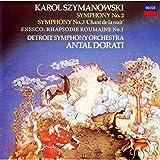 シマノフスキ:交響曲第2番&第3番