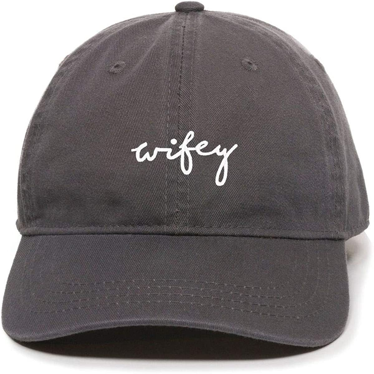 DSGN By DNA Wifey Baseball Bombing new work Adjustable Dad Cotton Embroidered Cap New popularity