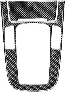 Bodbii Cigarrillos Encendedor del Coche Cambio de Engranaje del Panel de Control de Fibra de Carbono Cubre el Tipo de Pegatina de replacemnt para A4 A5 Q5 Q3 B8 A6 Accesorios para coche