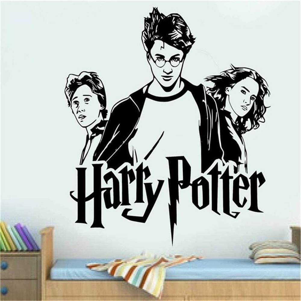 Sticker Hermione Granger Ron Weasley Wall Art Sticker Decal Home Diy Decoración Mural De La Pared Decoración De La Habitación Pegatinas De Pared