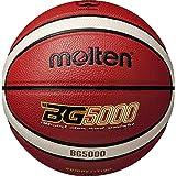 molten(モルテン) バスケットボール 小学生用 5号球 検定球 BG5000 オレンジ×アイボリー B5G5000