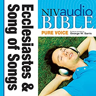 NIV Audio Bible, Pure Voice: Ecclesiastes and Song of Songs cover art