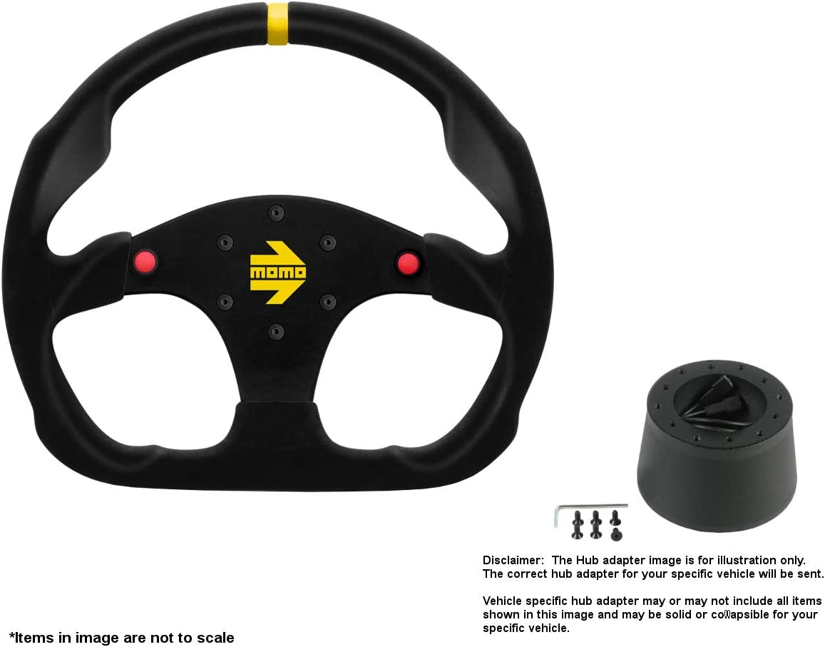 MOMO MOD.30 Buttons 320mm 12.6 Inches We OFFer at cheap prices Steering w Wheel Sales of SALE items from new works Suede B
