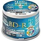 山善 キュリオム BD-R (1回録画用) (片面1層/1-4倍速/50枚スピンドル) 25GB BD-R50SP