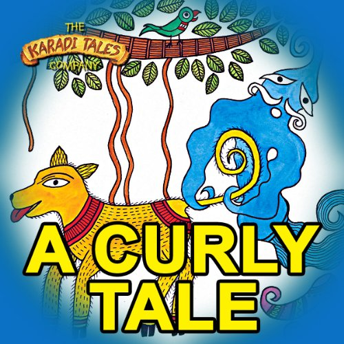 A Curly Tale audiobook cover art