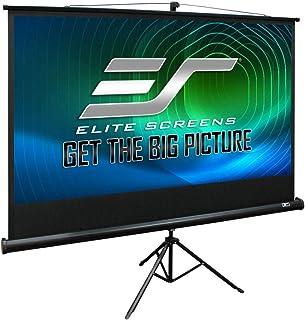 Elite Tripod 16:9 Portable Projector Screen, 100 inch