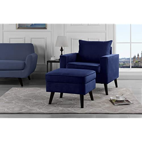 Navy Accent Chairs: Amazon.com