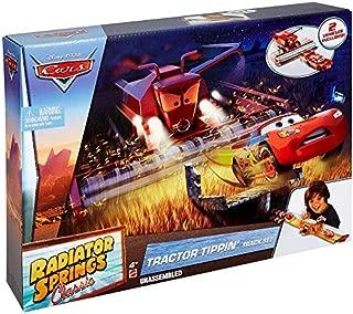 Disney Pixar Cars Tractor Tippin' Track Playset