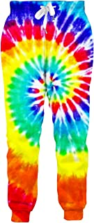 Loveternal Men Women 3D Digital Print Graphric Cool Joggers Casual Pants Sports Sweatpants