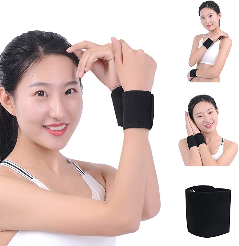 Self Heating Magnet Wrist Support Brace Protector Tourmaline Wristband