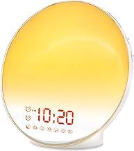 Wake Up Light Sunrise Alarm Clock for Kids, Heavy Sleepers, Bedroom, with Sunrise Simulation, Sleep Aid, Dual Alarms, FM R...
