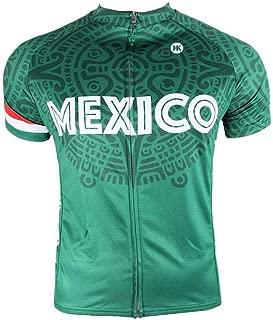 Mexico Cycling Jersey Collection (Mexican Flag, Dia De Los Muertos Sugar Skulls Cycling Apparel