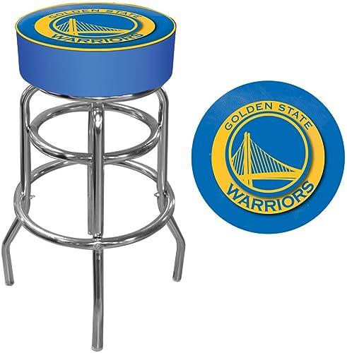 Trademark Gameroom NBA oren State Warriors Tabouret de Bar pivotant rembourré