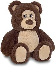 Bearington Lil' Beau Small Chocolate Brown Plush Stuffed Animal Teddy Bear, 7 inches