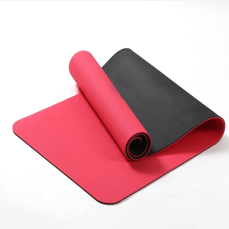 YONGLIANG Outdoor Supplies Tasteless TPE Yoga Mat Beginner Female Thick 6MM AntiSkid Exercise Mat Long Yoga Mat