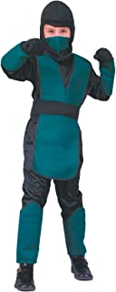 RG Costumes 90102-GR-S Combat Warrior Costume - Green - Size Child Small 4-6