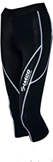 Zimco Elite Women Compression Knicker Base Layer Running Skin 3/4 Tight Pant