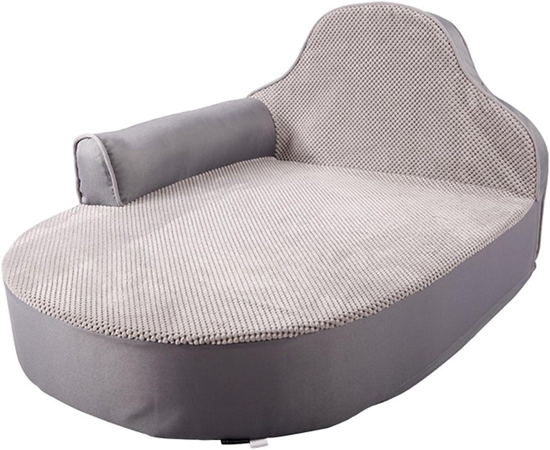 Pet bed grigio divano quattro stagioni lavabile PP kennel e lettiera del gatto 31 * 25 * 17 pollici