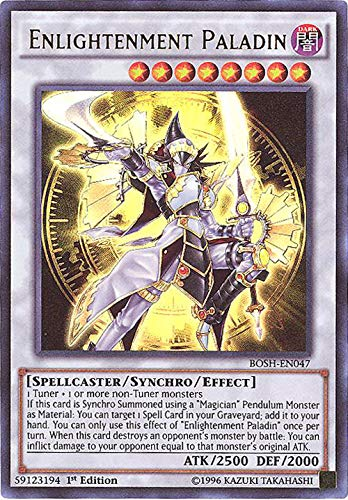 Yu-Gi-Oh! - Enlightenment Paladin (BOSH-EN047) - Breakers of Shadow - Unlimited Edition - Ultra Rare