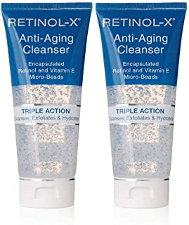 Skincare Retinol Anti-Aging Cleanse 5oz Tube Triple Action (2 Pack)