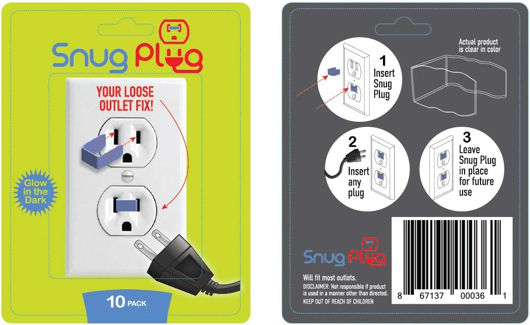 New arrival Max 53% OFF Snug Plug - Your Loose Outlet Fix Pack Glow 10 Dark The in