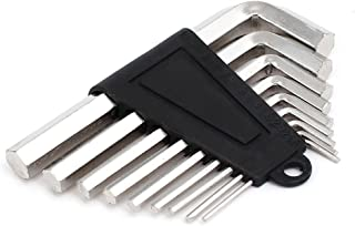 Aexit 1.5mm-10mm (hand operated tools) L Shape Dual Hexagon Head Hex Key Wrench Set Repair Tool 9 (22ry327qf461) in 1