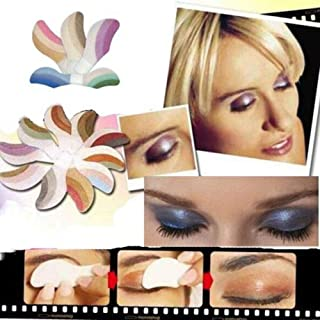 Oceaneshop Beauty Makeup Mix Colors Instant Eyeshadow Sticker Temporary Tattoo Paper Cut