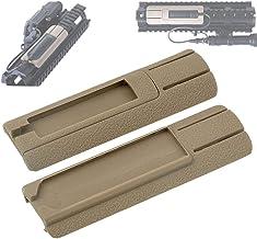 Set Fusil r/ésistant /à la Chaleur Ar-15 Handguard Panel Rail Cover Mount WADSN Airsoft Tactical Rubber M-Lok Rail Panel Kit pour M-Lok Handguard Picatinny Rail Cover 5PCS