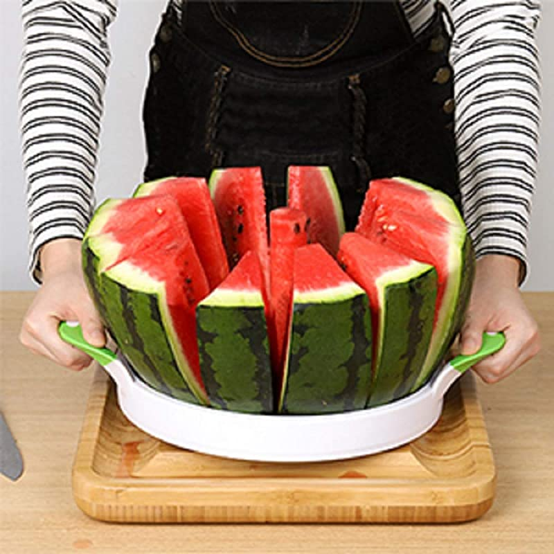 Watermelon Slicer Cutter Large Stainless Steel Melon Fruit Vegetable Kitchen Gadgets Tools
