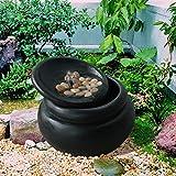 Peaktop fi0030aa-eu Fuente de Cascada de 3Niveles Zen Garden Exterior,...