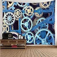 QWEFGDF 部屋のタペストリー タペストリーの壁の装飾 リビングルーム ベッドルーム 部屋 おしゃれ飾り 130x150 cm 実行中のマシン