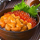 甲羅組 無添加生うに&北海道完熟いくら醤油漬け贅沢セット<span data-unlink>約4人前 ウニ イクラ 雲丹 いくら