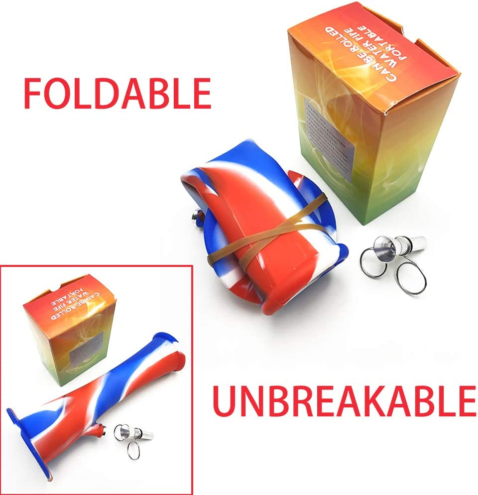 alpha-ene.co.jp Red Yellow and White Silicone Foldable Unbreakable ...
