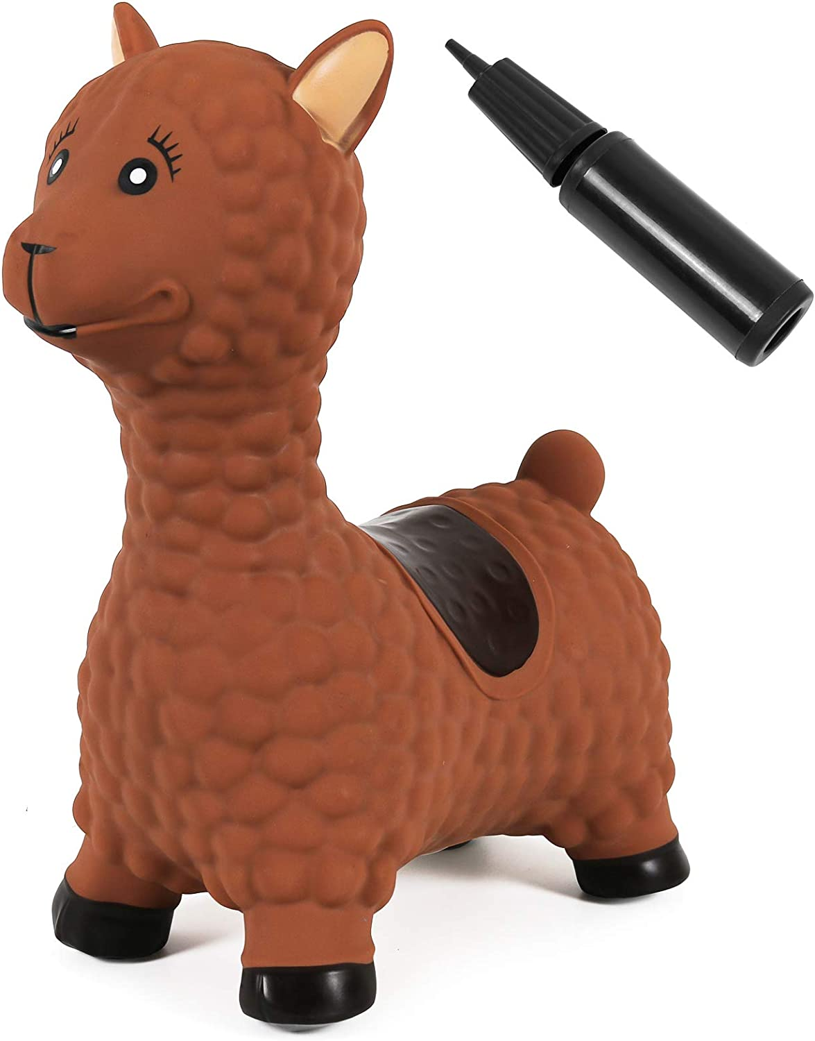 Kiddie Play Bouncy Horse Hopper for Toddlers Inflatable Animals