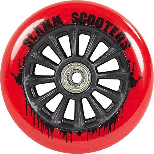 Slamm Scooters Slamm NY-Core 110mm Wheels Ruote, Unisex Adulto, Unisex Adulto, SL573, Rosso, 110 mm