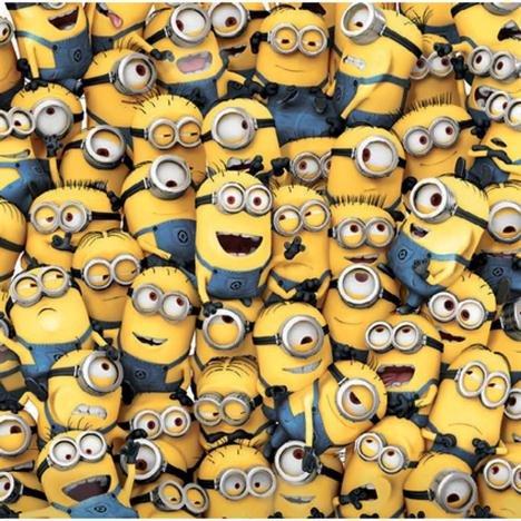 Sea Of Minions blanko Minions Karte