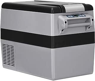 COSTWAY Car Freezer, 44 Quart Compressor Travel Refrigerator -4°F to 50°F, Portable and Compact Vehicle Car Cooler Fridge, For Car, Home, Camping, Truck Party(44 Quart)