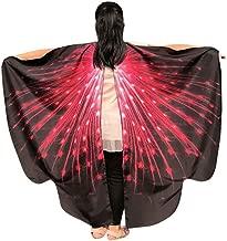 وشاح وشاح الحفلات للأطفال بتصميم أجنحة الفراشات من iDWZA, 136*108cm