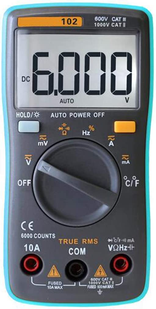 ViewSys Multifunction Digital Austin Mall New color Multimeter AC Voltage T Current DC